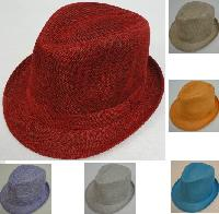 Ladies Fedora Hat [Solid Color]